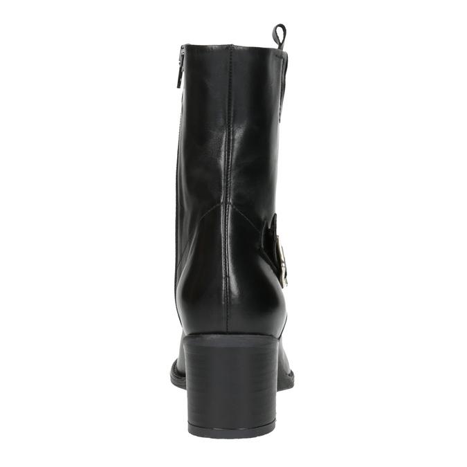 Dámska členková obuv bata, čierna, 694-6359 - 17