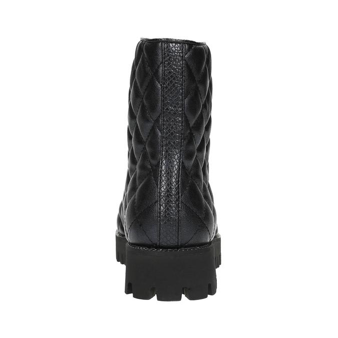 Dámska členková obuv bata, čierna, 591-6614 - 17