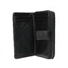 Dámska prešívaná peňaženka bata, čierna, 941-6135 - 15
