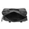Kabelka v Bowling štýle s prešívaním bata, čierna, 961-6191 - 15