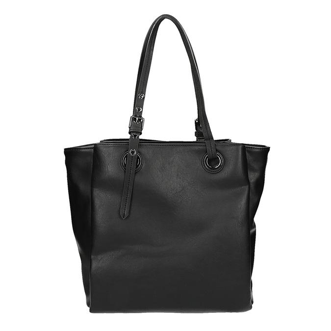 Kabelka v štýle Tote Bag bata, čierna, 961-6123 - 19