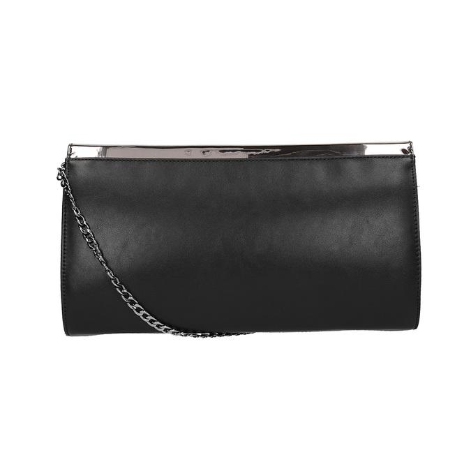 Dámska listová kabelka s retiazkou bata, šedá, 961-2218 - 19