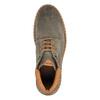 Kožená členková obuv na výraznej podrážke bata, šedá, 893-2650 - 19