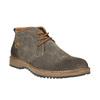 Kožené pánske Chukka Boots bata, hnedá, 893-3652 - 13