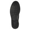 Kožená členková obuv s výraznou podrážkou bata, modrá, 893-9650 - 26
