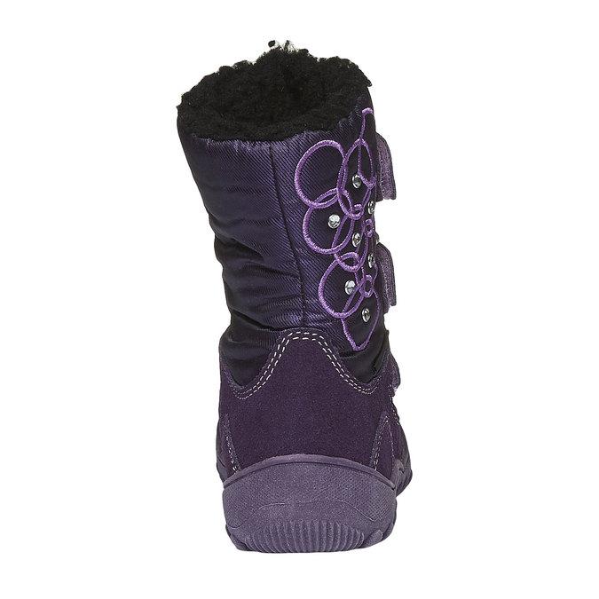 Detská obuv mini-b, fialová, 293-5100 - 17