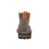 Kožená členková obuv na výraznej podrážke bata, šedá, 893-2650 - 17