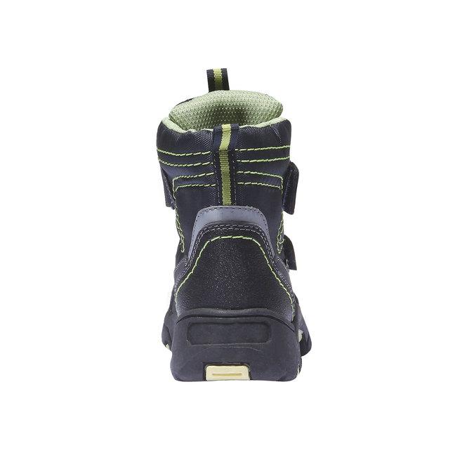 Detská obuv mini-b, modrá, 299-9144 - 17