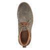 Kožené pánske Chukka Boots bata, hnedá, 893-3652 - 19