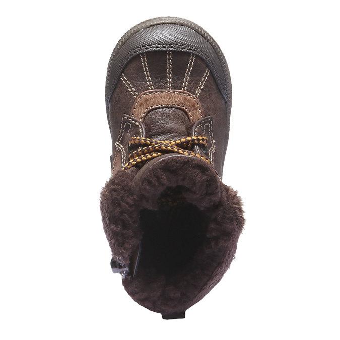 Detská obuv mini-b, hnedá, 191-4100 - 19