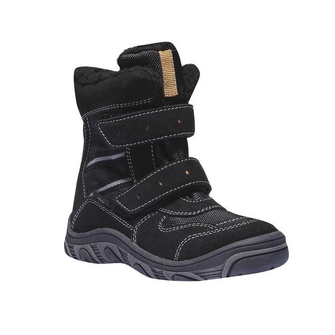 Detská obuv mini-b, čierna, 393-6101 - 13