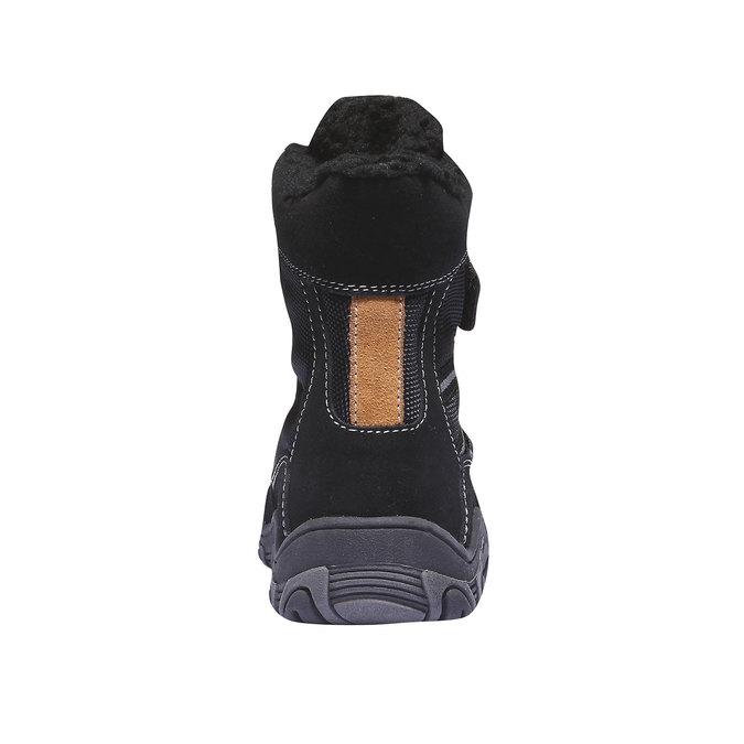 Detská obuv mini-b, čierna, 393-6101 - 17