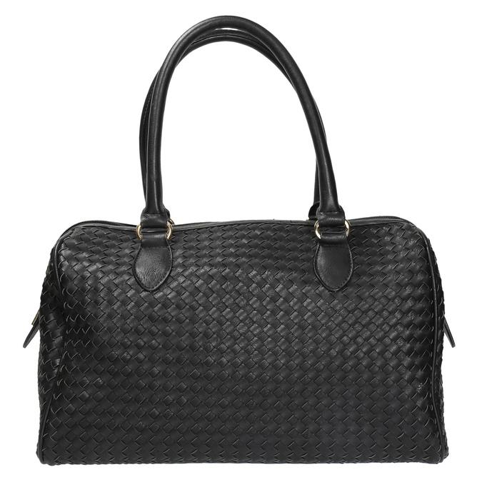 Bowling kabelka s prepletaným vzorom bata, čierna, 961-6629 - 19