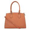 Hnedá elegantná kabelka s pevnými rúčkami bata, hnedá, 961-3646 - 26