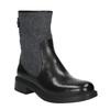 Kožená členková obuv bata, čierna, 594-6632 - 13