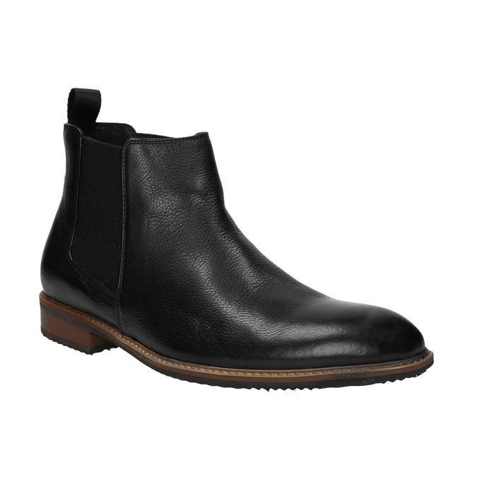 Kožené Chelsea Boots bata, čierna, 894-6666 - 13