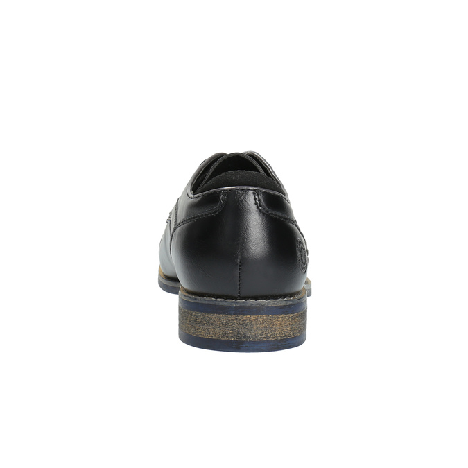 Pánske ležérne poltopánky bata, čierna, 821-6600 - 17