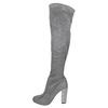 Dámské čižmy nad kolená bata, šedá, 799-2606 - 26