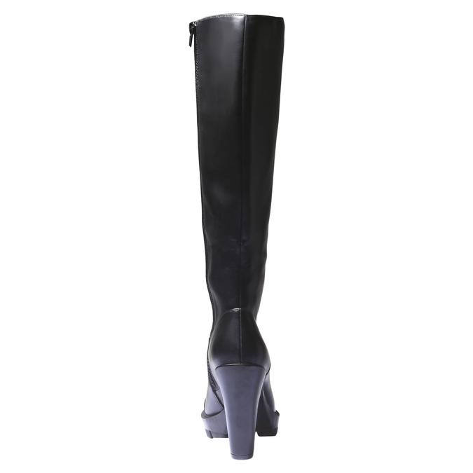 Čižmy na originálnej podrážke bata, čierna, 791-6574 - 17