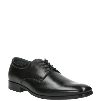Pánske kožené poltopánky bata, čierna, 824-6752 - 13