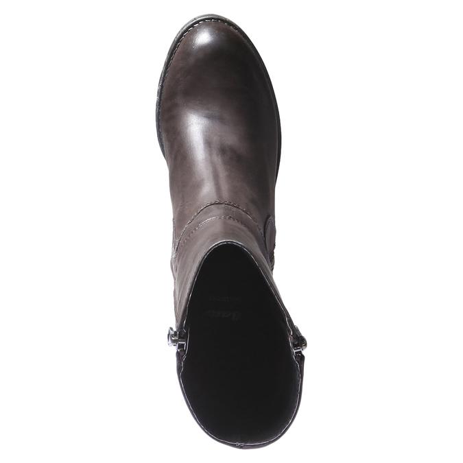 Kožená zimná obuv bata, hnedá, 794-4259 - 19