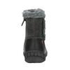Detská členková obuv bubblegummer, čierna, 191-6612 - 17