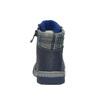 Detská kožená obuv so zateplením bubblegummer, modrá, 116-9102 - 17