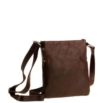 Kožená Crossbody taška bata, hnedá, 964-4113 - 13