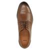 Ležérne kožené poltopánky hnedé bata, hnedá, 826-3653 - 19