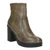 Členková obuv na širokom podpätku bata, hnedá, 791-3601 - 13