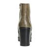 Členková obuv na širokom podpätku bata, hnedá, 791-3601 - 17