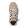 Detské kožené tenisky nad členky mini-b, ružová, 323-5171 - 19