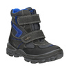 Detská zimná obuv mini-b, čierna, 499-6103 - 13