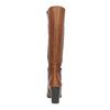 Dámské kožené čižmy bata, hnedá, 794-4447 - 17