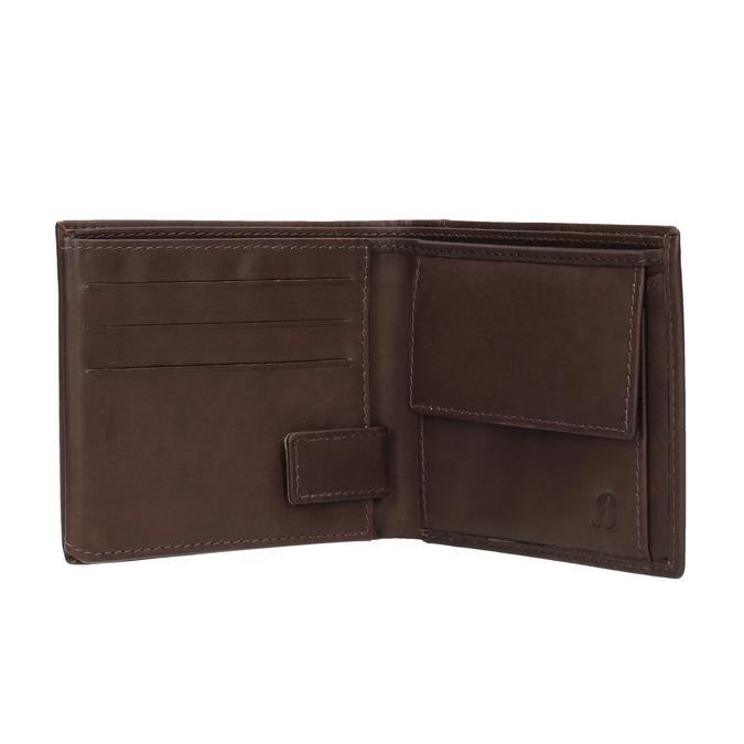 Pánska kožená peňaženka bata, hnedá, 944-4175 - 15
