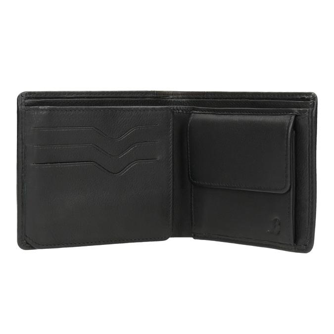 Elegantná pánska peňaženka bata, čierna, 944-6177 - 15