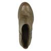 Dámska členková  obuv so zipsami bata, hnedá, 591-3612 - 19