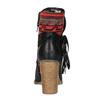 Členkové čižmy vo Western štýle so zateplením bata, čierna, 699-6603 - 17