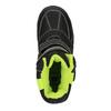 Detská obuv so zateplením mini-b, čierna, 291-6601 - 19