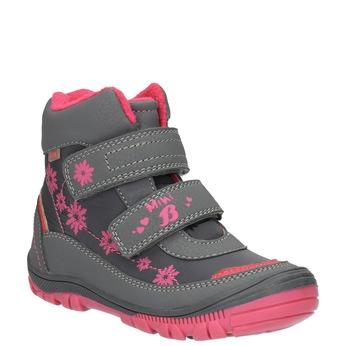 Členková detská obuv mini-b, šedá, 299-2610 - 13