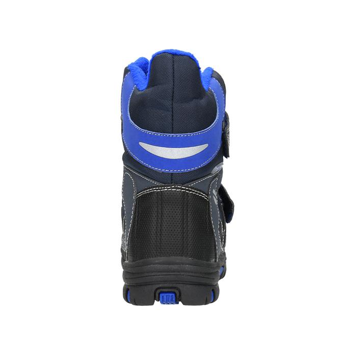Detská zimná obuv mini-b, šedá, 291-2601 - 17