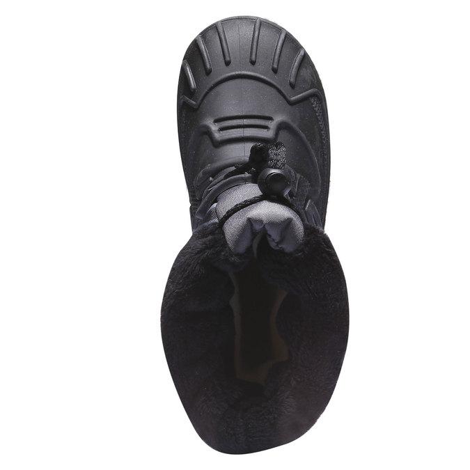 Detská obuv mini-b, čierna, 392-6100 - 19