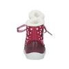 Dievčenská  zimná obuv s kožúškom bubblegummer, červená, 199-5600 - 17