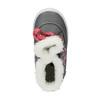 Detská zimná obuv so srdiečkami bubblegummer, šedá, 199-2600 - 19