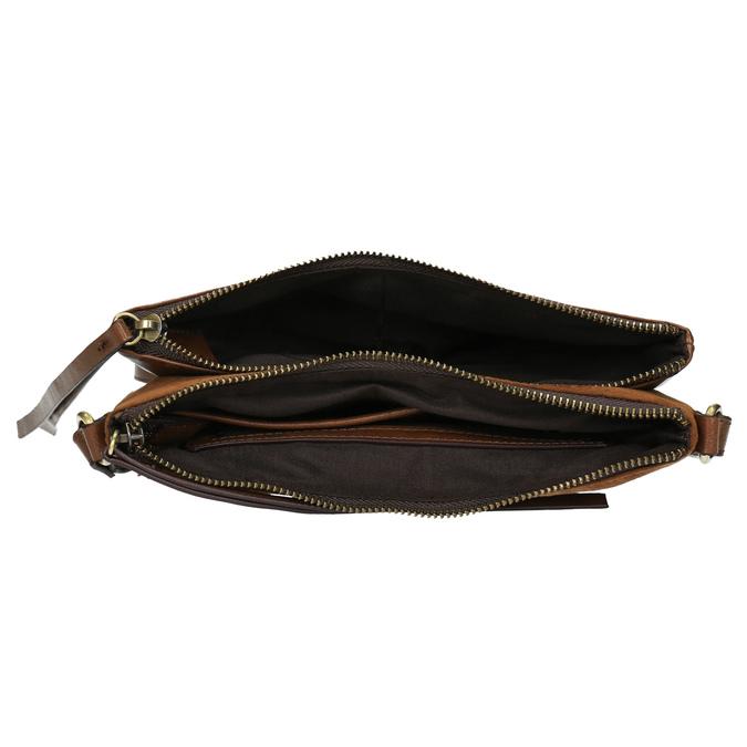 Dámska Crossbody kabelka hnedá bata, hnedá, 969-3458 - 15