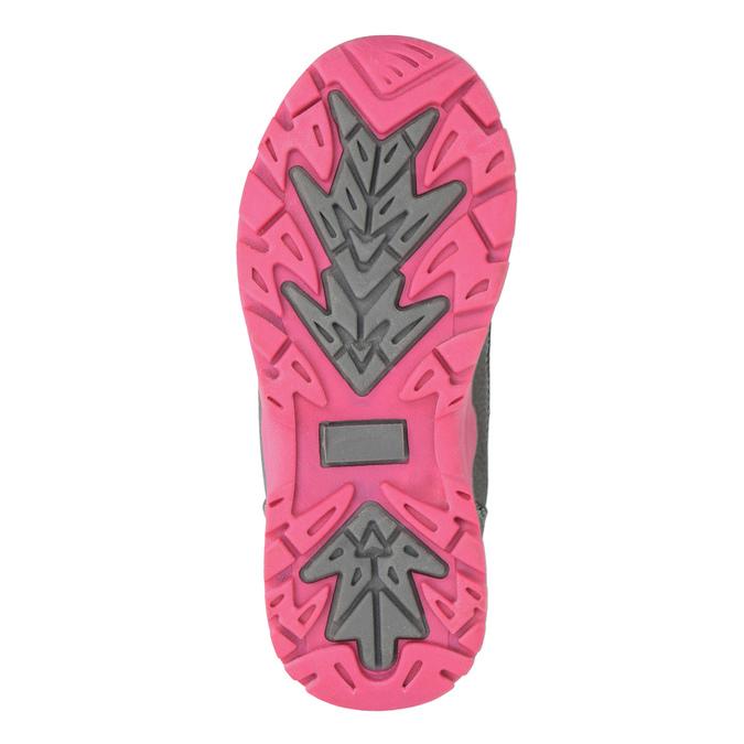 Detská zimná obuv mini-b, šedá, 391-2100 - 26