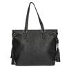 Dámska kabelka v Etno štýle bata, čierna, 961-6669 - 26