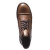 Ležérna kožená obuv bata, hnedá, 894-3555 - 19