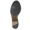 Vysoké kožené čižmy vo Western štýle bata, hnedá, 696-3608 - 26