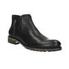 Pánska obuv vo výške ku členkom bata, čierna, 894-6656 - 13